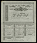 Confederate Notes:Group Lots, Two CSA Bonds.. Ball 166 $100 1863 Bond Remainder AU, edge wear.Ball 192 $500 1863 Bond VF.. Add some bonds to your... (Total: 2items)