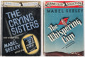 Books:Mystery & Detective Fiction, Mabel Seeley. Group of Two First Editions. New York: The Crime Club, Inc., 1939-1940.. ... (Total: 2 Items)