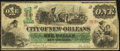 Obsoletes By State:Louisiana, New Orleans, LA- City of New Orleans $1 Oct. 24, 1862 Fine.. ...