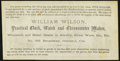 Obsoletes By State:California, Oakland, CA- W. Wilson $5 Commission Scrip ND (ca. 1873) Crisp Uncirculated.. ...