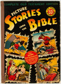 Golden Age (1938-1955):Religious, Picture Stories from the Bible Complete Old Testament (EC, 1943) Condition: VG/FN....