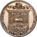 1869 Humane Society of Massachusetts Silver Medal Presented to Ambrose Wise. MS61 Prooflike NGC