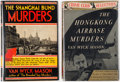 Books:Mystery & Detective Fiction, Van Wyck Mason. Group of Two First Editions. New York: The Crime Club, Inc., 1933-1937.. ... (Total: 2 Items)