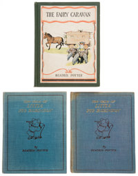 Beatrix Potter. The Fairy Caravan. Philadelphia: David McKay Company, [1929]. First edition.... (Total: 3)