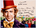 Memorabilia:Movie-Related, Willy Wonka and the Chocolate Factory Photograph Signed By Gene Wilder and Other Cast Members (Paramount, 1971)....