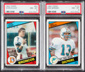 Football Cards:Sets, 1984 Topps Football Complete Set (396) With Elway & Marino PSA NM-MT 8 Rookie Cards. ...