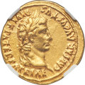Ancients: Augustus (27 BC-AD 14). AV aureus (21mm, 7.83 gm, 1h). NGC AU 5/5 - 3/5, edge marks