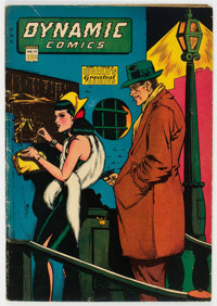 Dynamic Comics #15 (Chesler, 1945) Condition: VG/FN