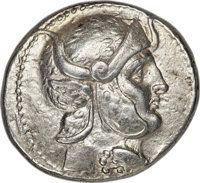 Ancients: SELEUCID KINGDOM. Seleucus I Nicator (312-281 BC). AR tetradrachm (28mm, 17.05 gm, 4h). NGC Choice VF 5/5 - 4/...