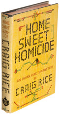 Books:Mystery & Detective Fiction, Craig Rice. Home Sweet Homicide. New York: Simon and Schuster, 1944. First edition.. ...