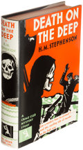 Books:Mystery & Detective Fiction, H. M. Stephenson. Death on the Deep. New York: The Crime Club, Inc., 1931. First edition.. ...