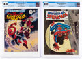 Magazines:Superhero, Spectacular Spider-Man #1 and 2 Group (Marvel, 1968) CGC VF 8.0.... (Total: 2 Comic Books)