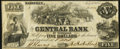 Obsoletes By State:Tennessee, Nashville, TN- Central Bank at Paris Branch $5 July 10, 1855 Fine-Very Fine.. ...