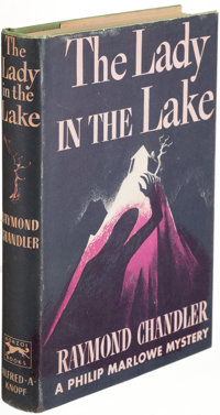 Raymond Chandler. The Lady in the Lake. New York: Alfred A. Knopf, 1943. First edition