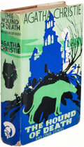 Books:Mystery & Detective Fiction, Agatha Christie. The Hound of Death. And Other Stories. London: Odhams Press Limited, [1933]. First edition....