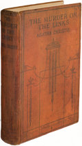 """Books:Mystery & Detective Fiction, Agatha Christie. The Murder on the Links. London: John Lane the Bodley Head Ltd., [1923]. First edition, with """"Colon..."""