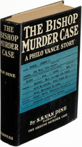 Books:Mystery & Detective Fiction, S. S. Van Dine. The Bishop Murder Case. A Philo Vance Story. New York: Charles Scribner's Sons, 1929. First edition.. ...