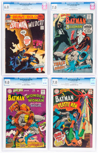 The Brave and the Bold CGC-Graded Group of 4 (DC, 1968-71).... (Total: 4 )