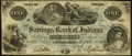 Obsoletes By State:Indiana, Connersville, IN- Savings Bank of Indiana $1 Aug. 23, 1854 Extremely Fine-About Uncirculated.. ...