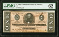 Confederate Notes:1864 Issues, T71 $1 1864. ...