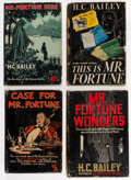 Books:Mystery & Detective Fiction, H. C. Bailey. Group of Four First American Editions. New York: The Crime Club, Inc., [1932-1940].. ... (Total: 4 Items)