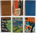 Books:Mystery & Detective Fiction, [Golf Mysteries]. Herbert Adams. Group of Six First or First American Editions. London [and:] New York: [Various Publishers]... (Total: 6 Items)