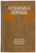 Books:Mystery & Detective Fiction, Samuel Hopkins Adams. Average Jones. Indianapolis: The Bobbs-Merrill Company Publishers, [1911]. First edition....