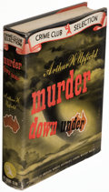 Books:Mystery & Detective Fiction, Arthur W. Upfield. Murder Down Under. New York: The Crime Club, 1943. First American edition.. ...