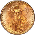 Saint-Gaudens Double Eagles, 1911-D $20 MS67+ PCGS. Ex: Fox-Price. From a minta...