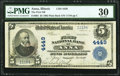 Anna, IL - $5 1902 Plain Back Fr. 601 The First National Bank Ch. # 4449 PMG Very Fine 30