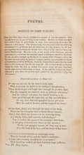 """Books:Americana & American History, [""""The Star-Spangled Banner.""""] [Francis Scott Key.] The Analectic Magazine. Containing Selections from Foreign Revi..."""