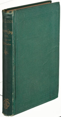 Francis Bret Harte. The Luck of Roaring Camp. And Other Sketches. Boston: Fields, Os