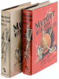 Books:Mystery & Detective Fiction, Jerome Barry. Murder with Your Malted. New York: The Crime Club, Inc., 1941. First edition of the author's first mystery. Tw... (Total: 2 Items)