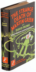 Books:Mystery & Detective Fiction, David Frome. The Strange Death of Martin Green. New York: The Crime Club, Inc., [1931]. First edition. . ...