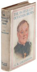Books:Mystery & Detective Fiction, G. K. Chesterton. The Incredulity of Father Brown. New York: Dodd, Mead, and Company, 1926. First American edition.. ...