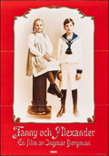 "Movie Posters:Foreign, Fanny and Alexander (Sandrews Film & Teater, 1982). Flat Folded, Very Fine-. Swedish One Sheet (27.5"" X 39.25""). Foreign.. ..."