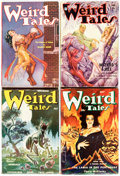 Pulps:Horror, Weird Tales Group of 12 (Popular Fiction, 1933-53) Condition: Average FN.... (Total: 12 Items)