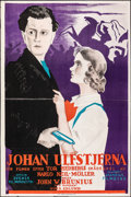 "Movie Posters:Foreign, Johan Ulfstjerna (Svensk Filmindustri, 1925). Flat Folded, Fine/Very Fine. Swedish One Sheet (23.5"" X 35""). Foreign.. ..."