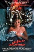 "A Nightmare on Elm Street (New Line, 1984). Folded, Very Fine. One Sheet (27"" X 41""). Matthew Joseph Peak Artw..."