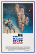 """Movie Posters:Adventure, The Right Stuff (Warner Bros., 1983). Folded, Very Fine+. One Sheet (27"""" X 41"""") Tom Jung Artwork. Adventure.. ..."""