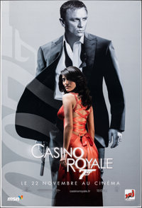 """Casino Royale (MGM, 2006). Rolled, Very Fine/Near Mint. French Subway (46.5"""" X 69"""") DS Advance, Solange Style..."""