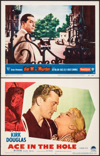 "Ace In The Hole & Other Lot (Paramount, 1951). Very Fine. Lobby Card (11"" X 14""). Film Noir. ... (Tota..."