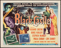 "The Black Castle (Universal International, 1952). Very Fine. Title Lobby Card (11"" X 14""). Mystery"