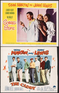 """Movie Posters:Sports, The Caddy & Other Lot (Paramount, 1953). Overall: Fine+. Trimmed Lobby Card (Approx. 13.75"""" X 14"""") & Lobby Card (11"""" X 14"""").... (Total: 2 Items)"""