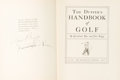 Books:Sporting Books, [Golf]. Grantland Rice and Clare Briggs. The Duffer's Handbook of Golf. New York: The Macmillan Company, 1926. First edition...