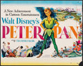 """Movie Posters:Animation, Peter Pan (RKO, 1953). Fine+. Title Lobby Card (11"""" X 14""""). Animation.. ..."""