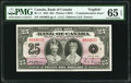 World Currency, Canada Bank of Canada $25 6.5.1935 BC-11 Commemorative PMG Gem Uncirculated 65 EPQ.. ...
