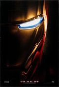 """Movie Posters:Science Fiction, Iron Man (Paramount, 2008). Rolled, Overall: Very Fine. One Sheet (27"""" X 40"""") & Mini Posters (4) (13.5"""" X 20""""). DS Advance. ... (Total: 5 Items)"""