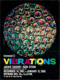 "Movie Posters:Miscellaneous, Vibrations (1967). Rolled, Fine/Very Fine. Heavy Stock Art Exhibition Poster (21.25"" X 27.75"") Jon Henrey Photography. Misce..."