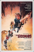 "Movie Posters:Adventure, The Goonies (Warner Bros., 1985). Rolled, Near Mint. One Sheet (27"" X 41""). SS, Style A Drew Struzan Artwork. Adventure.. ..."